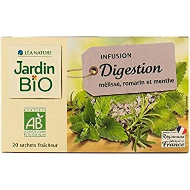 Garden Organic Tea Lemon Balm Rosemary Peppermint Organic 30g 20