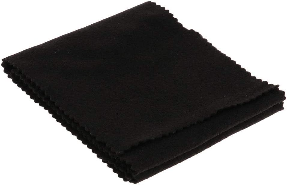 NUZAMAS Piano Keyboard Cover Dust Cover Soft Cloth for Piano Electronic Keyboard Black Digital Piano Cleaning Care 11914cm