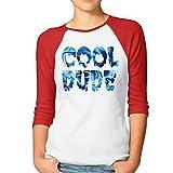 Women's Undertale Papyrus Cool Dude 3/4 Sleeve Raglan T-Shirt XXL Red
