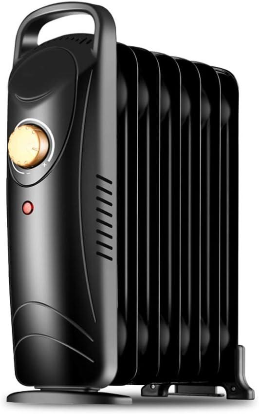 CDFC Mini Radiadores De Aceite, Termostato Portátil, Calentador Eléctrico, Adecuado para Dormitorio, Oficina