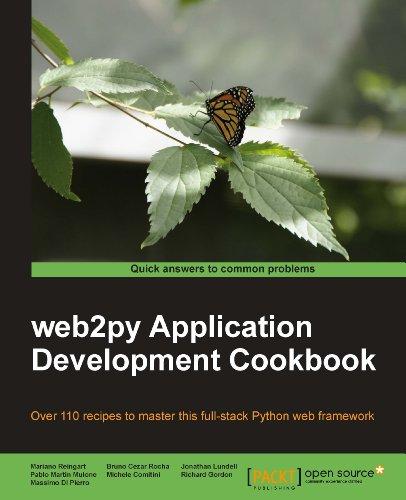 web2py Industry Development Cookbook