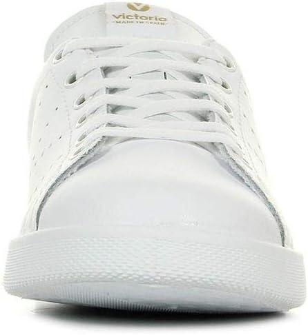 Victoria Deportivo Piel Sneakers voor volwassenen, uniseks Blanc