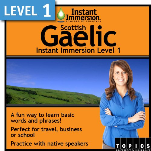 Instant Immersion Level 1 - Scottish Gaelic [Download] by Topics Entertainment