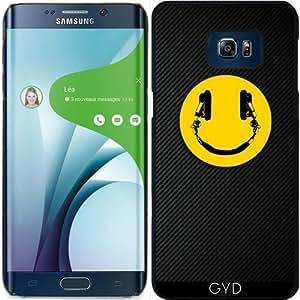 Funda para Samsung Galaxy S6 Edge Plus - Sonreír Fibra De Carbono Dj by Spycker