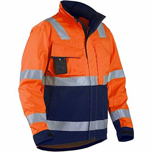 Blakläder 406418115389x S High Schrauben Jacke Klasse 3Größe XS Orange/Marineblau Blau