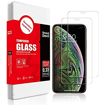 Amazon.com: SmartDevil Screen Protector for iPhone X/Xs
