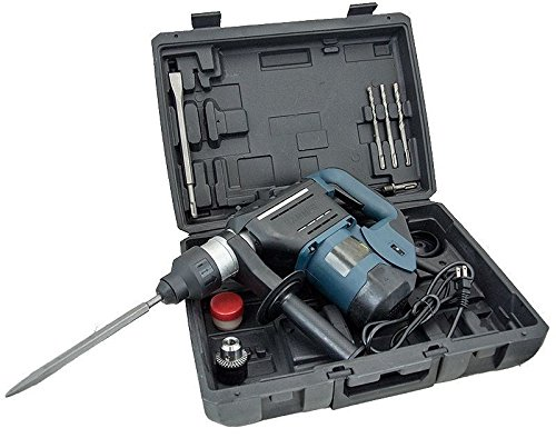 1-1/2'' SDS Rotary Hammer Drill Kit Concrete Demolition Tool 1.5'' w/ Bits & Case by Eight24hours