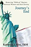Journey's End, Kathryn Riss, 0595267939