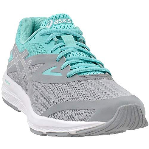 Shoe Blue Running Women's Mid Amplica high Ankle aruba Grey Asics silver wPXHOqP