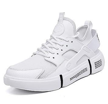 GLSHI Hombre Zapatillas Respirables 2018 Otoño Amortiguación Zapatos Deportivos Ligeros Zapatillas para Correr al Aire Libre: Amazon.es: Deportes y aire ...