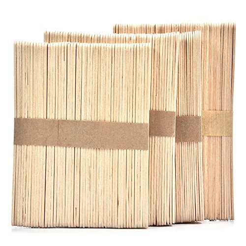 (200pcs Ice Cream Stick, DIY Wooden Sticks for Crafts, Wooden Herb and Plant Labels)