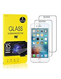 iPhone 6 / 6S / 7/8 Screen Protector, Bear Village® Tempered Glass Screen Protector [Lifetime Warranty], 9H Hardness Screen Protector Film for iPhone 6 / 6S / 7/8-2 PACK