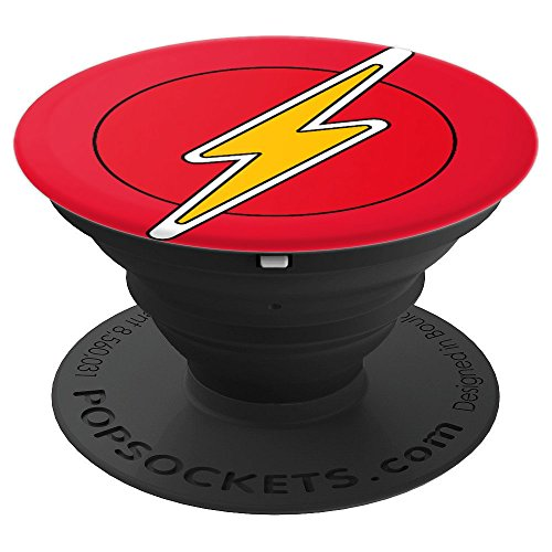 Lightning Bolt I Train Super Heros SS Mens Womens Kids Gift - PopSockets Grip and Stand for Phones and Tablets