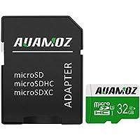 Micro SD Card 32GB, AUAMOZ Micro SDHC Class 10 UHS-I High...