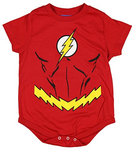 Flash Costume Infant Snapsuit- 6-12 Months
