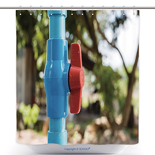 Mildew Resistant Shower Curtains Water Valve Connects To Pvc Pipe 358860536 Polyester Bathroom Shower Curtain Set With (Halloween Connect The Dot Pages)