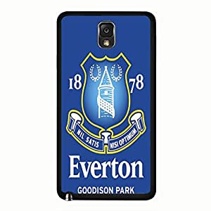 Samsung Galaxy Note 3 N9005 Cover Shell Fashion Blue Background Everton Football Club Phone Case Cover for Samsung Galaxy Note 3 N9005