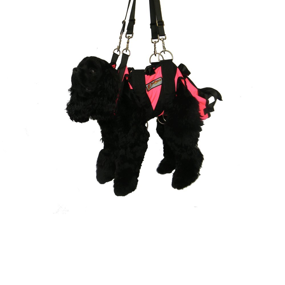 Rock N Rescue Dog Harness Small Hot Pink
