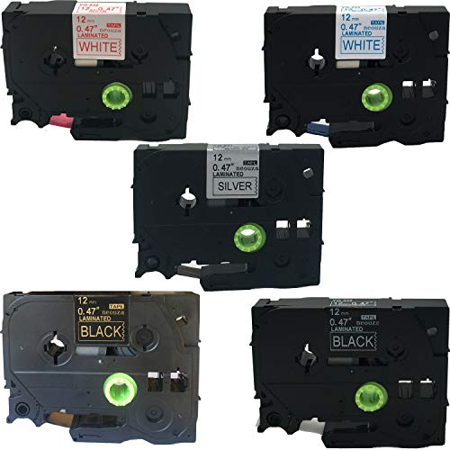 Best Costco Garage Door Opener - NEOUZA 5PK Compatible for Brother P-Touch