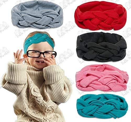 (Beautiful Celtic Knot Headband - 5 Piece Pack of Highest Quality Baby Headbands)