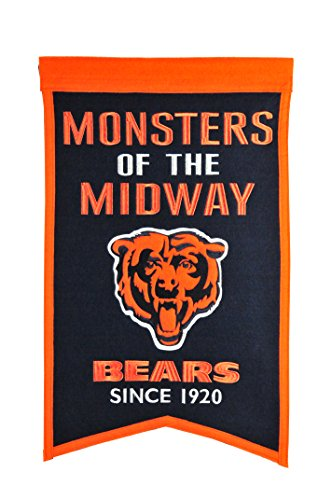 chicago bears heritage banner - 4