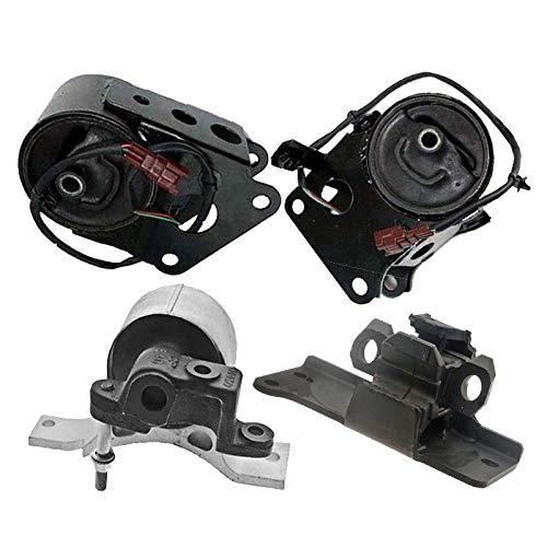 K0696 Fits 2007-2008 Nissan Maxima 3.5L Motor & Trans Mount Set 4PCS w/Sensor Wires! : A7349EL A7348, A4325EL A4321