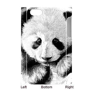 3D Bumper Plastic Case Of Panda customized case For Iphone 4/4s wangjiang maoyi