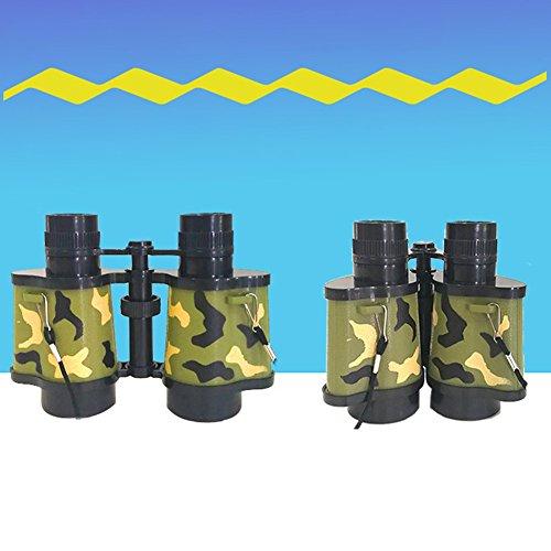 Jumelles Telescope Mini télescope réglable éducatif de jumelles extérieures de camouflage cadeaux de jouets pour des enfants