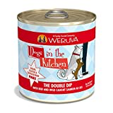 Weruva Dogs In The Kitchen, The Double Dip With Beef & Wild-Caught Salmon Au Jus Dog Food, 10Oz Can (Pack Of 12) Review
