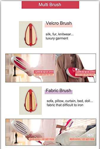 Amazon.com: Goodway Garment Steamer Steam Iron Clothes Hand Type 2in1 Fashionable Goodway SteamQ2: Home & Kitchen