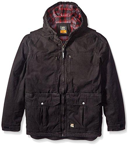 Berne Men's Concealed Carry Echo One Jacket, Black, Large/Regular from Berne