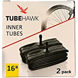 2 Pack - BOB, Thule, Joovy Zoom, Graco, Schwinn, Baby Trend Jogging Stroller Inner Tube Replacement - 16