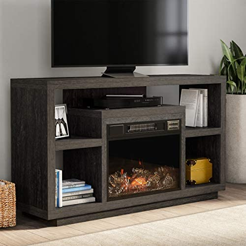 Northwest 80-FPWF-10 Heat Electric Fireplace Stand-for TVs up to 48″ Console