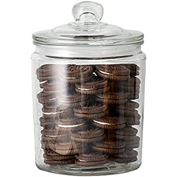 Airtight Cookie Jar Impressive Amazon KooK Glass Storage Canister Clear Jar With Clear Glass
