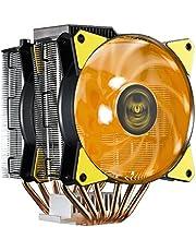 Cooler Master MasterAir MA620P TUF Edition Dual-Tower RGB CPU Air Cooler 6 Heat pipes Dual Master Fan MF120R 120mm RGB Fans (MAP-D6PN-AFNPC-R1)