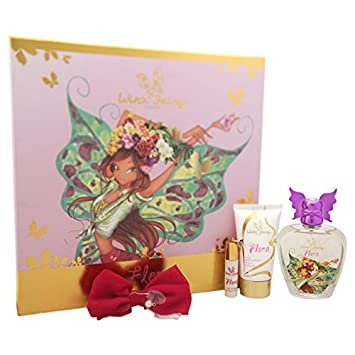 a5caa99f8bf Amazon.com   Winx Fairy Couture Flora Chic Essence 4 Piece Gift Set   Beauty