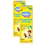 Hyland's 4 Kids Complete Allergy Syrup, Safe and Natural Indoor & Outdoor Allergy Relief for Children, 4 Ounce (2 Pack)