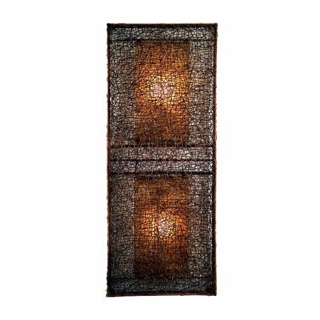 Padma's Plantataion Wicker Partition Lamp, (Plantation Wicker)
