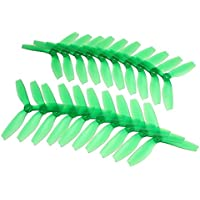 BangBang 10 Pairs Racerstar R5040X3 5040 3 Blade Propeller 5.0mm Mounting Hole For 2204 2206 Motor FPV Frame (10 Pairs: Color Green)