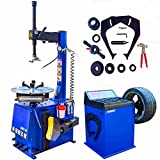 CHIEN RONG 1.5 HP Tire Machine Tire Changer Wheel Changers Machine Balancer Rim Clamp Combo 560-680 12