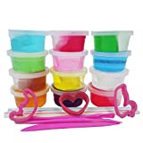 Free Slime Art Supplies for Kids for Autistic Children Educational Toys for 3 Year Olds / 4 Year Olds by Girl Toys for Art Popular Toys for Boys for Girls Clay Slime Art Set for Toddlers Art Gifts
