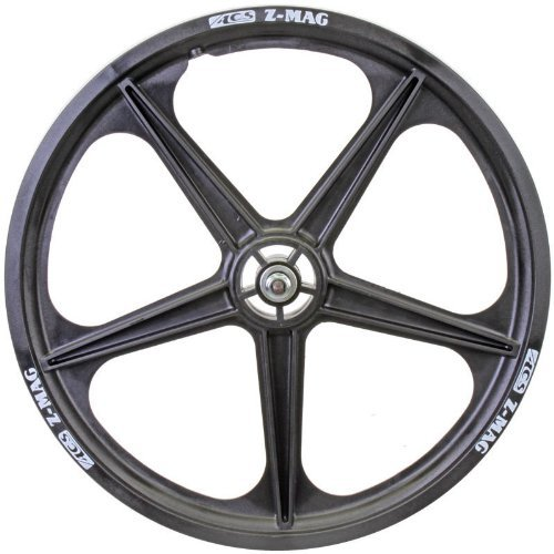ACS Mag 5-Spoke Front Wheel, schwarz by ACS