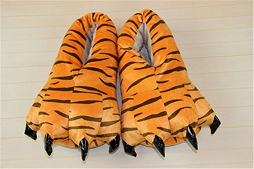 Animal Shoes Paw Home Slippers Tiger Soft Costume Cosplay Homewear Claw xFC4nTqSw