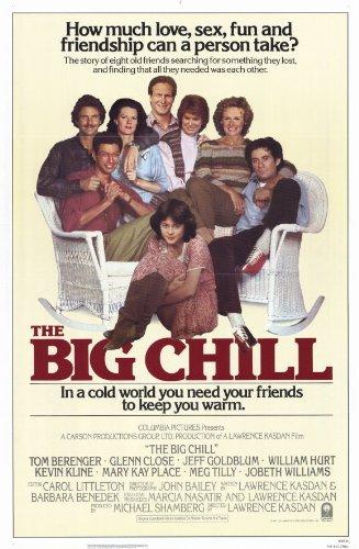 The Big Chill Poster Movie C Tom Berenger Glenn Close Jeff Goldblum William Hurt