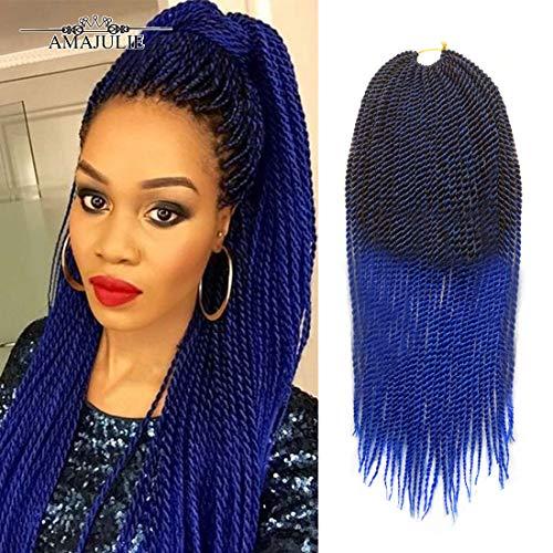 AMAJULIE Senegalese Crochet Synthetic Braiding product image