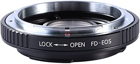 Beschoi Lens Mount Adapter for Canon FD Lens to Fujifilm FX Mount Camera Adapter