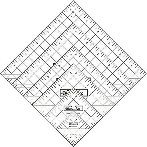 Bloc Loc Half Square Triangle Ruler Set 1 by Bloc Loc