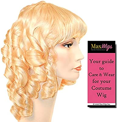 Amazon.com   Little Women Color Auburn - Lacey Wigs Style 19th Century  Medieval Maiden Royal Ball Long CurlsBundle with MaxWigs Costume Wig Care  Guide   ... 40b4f48c5b