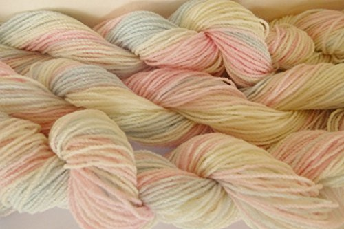 Pastel Multicolor Acrylic Nylon Blend Stretch Knit Fingering Weight (Nylon Fingering Weight)