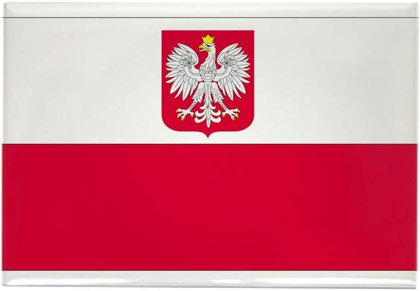 "CafePress Poland Rectangle Magnet, 2""x3"" Refrigerator Magnet"